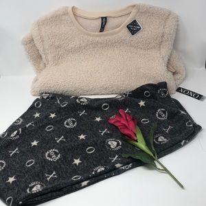 XOXO Pijama Set for Women Super Soft Cozy Plush XL